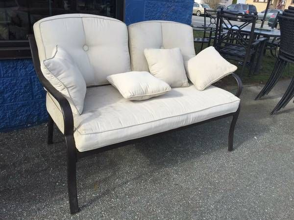 image 1 (With images)   Furniture, Patio bench, Outdoor sofa
