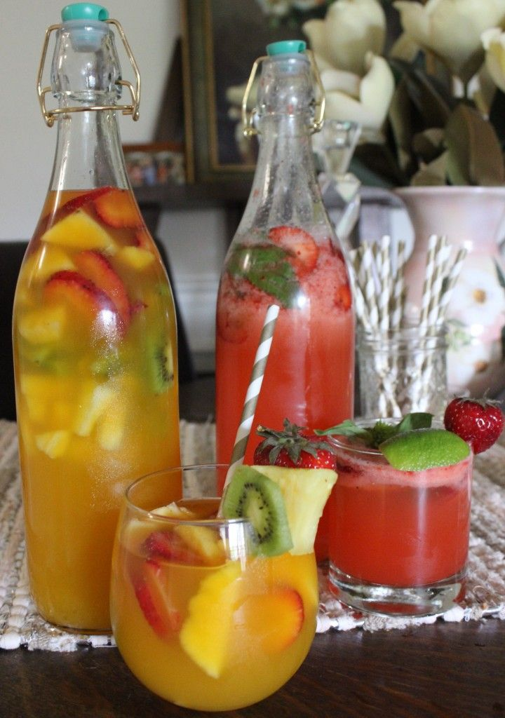 Spring Moscato Cocktails