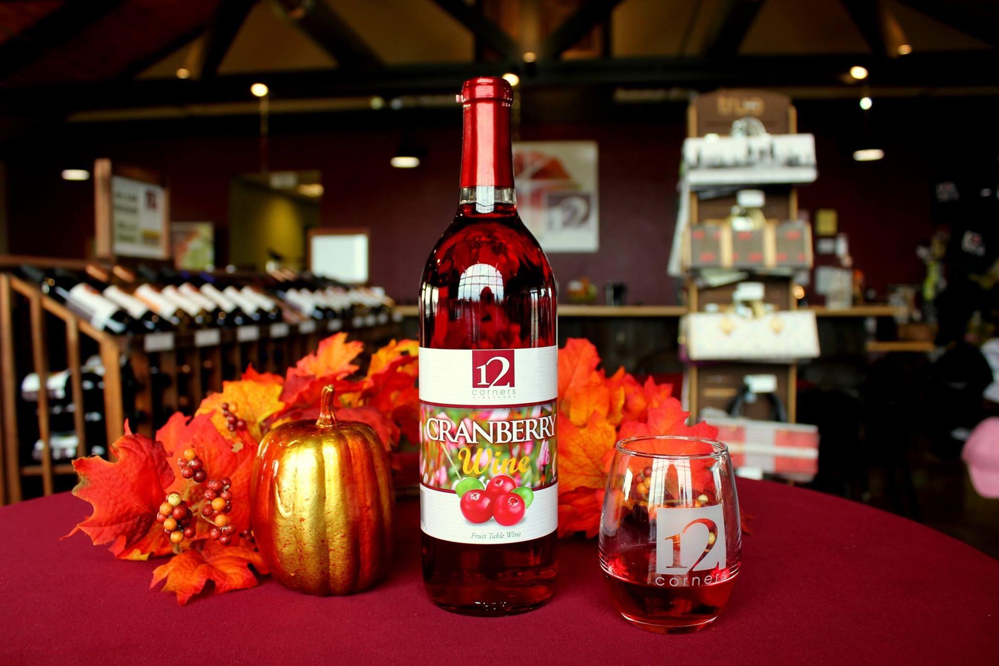 12 Corners Michigan Winery Tasting Room Very Nice With Pouring Samples Winery Tasting Room Tasting Room Cranberry