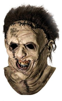 Leatherface Ovrhead Mask Collector-quality latex mask. - Adult