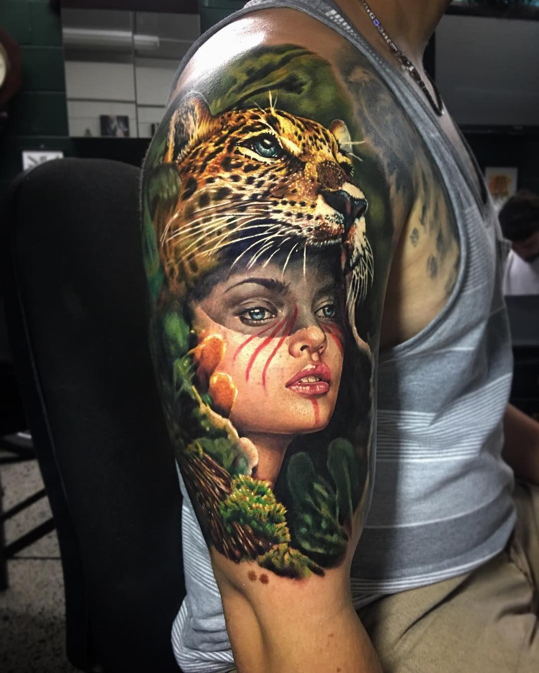 Pin De Marcel Lobaton En Tatuajes Color