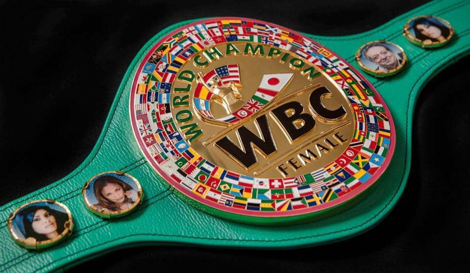 WBC Female World Champion Belt