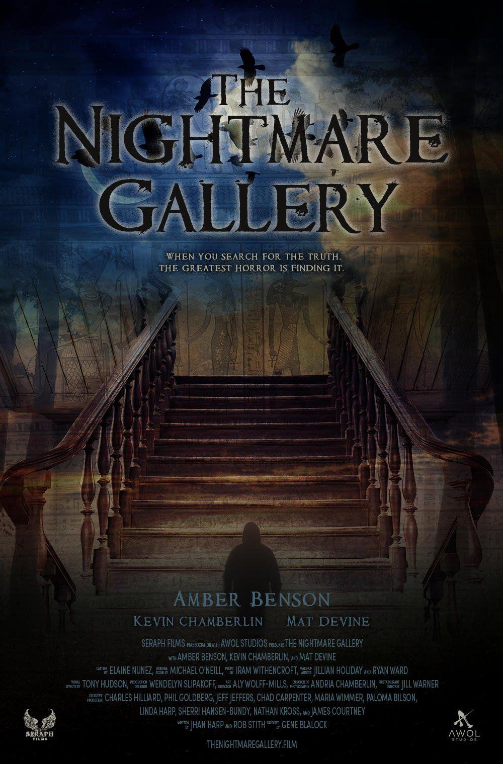 The Nightmare Gallery (2019) Horror, Thriller, Drama Movie