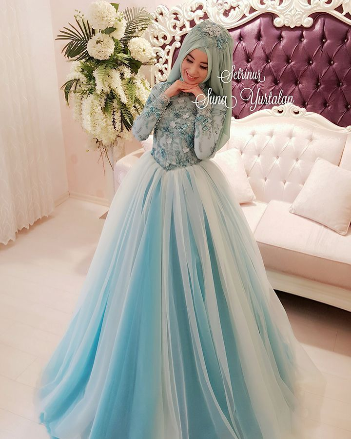 by setrinur | tesettür | Pinterest | Muslim, Wedding dress and ...
