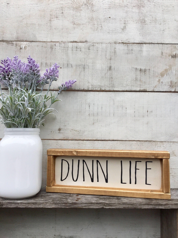 Country Decor Signs Impressive Dunn Life Rae Dunn Inspired  Farmhouse Style Country Decor Design Inspiration