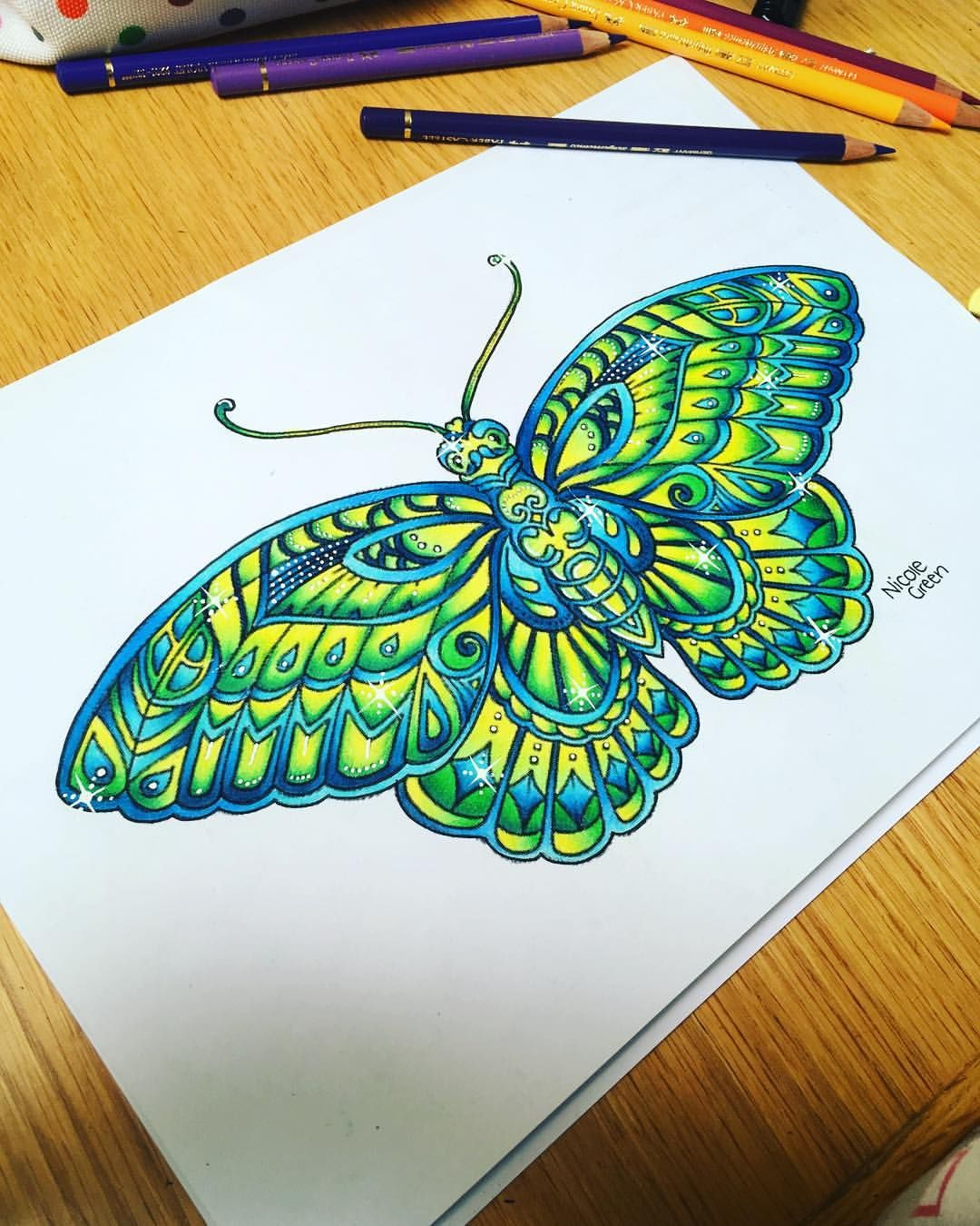 26 Likes, 1 Comments - Nicole\'s Colouring (@nicolescolouring_) on ...