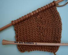 Apprendre à tricoter en rangs raccourcis | Comment tricoter, Tricot, Tricot et crochet