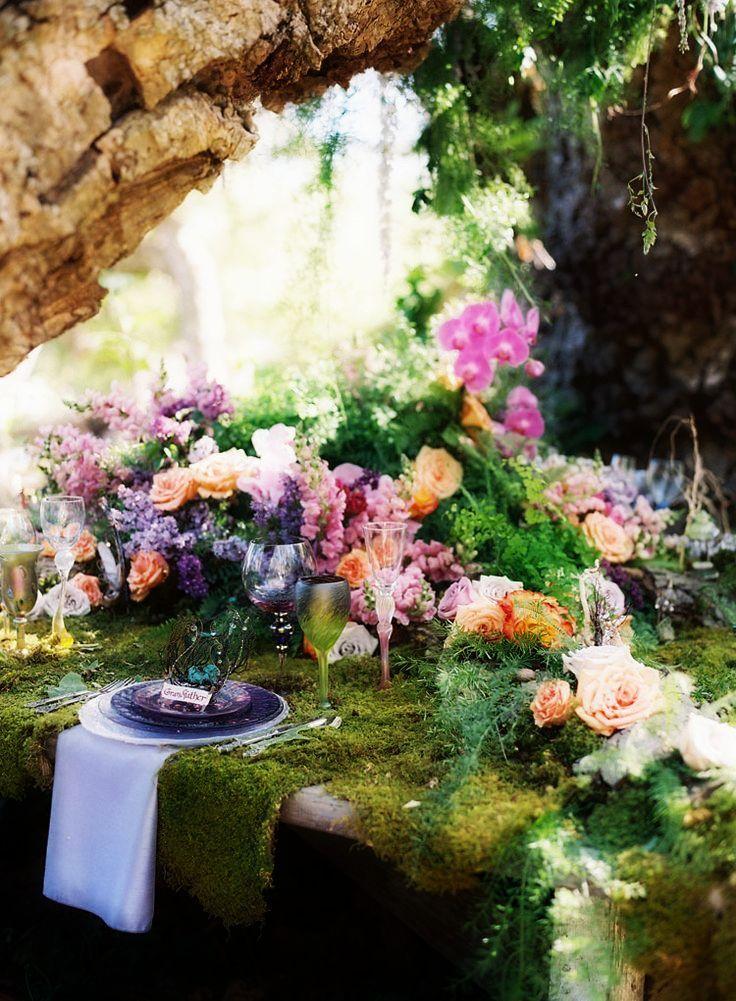 Woodland Wedding, Fairy, Fairy wedding, fairy theme ...