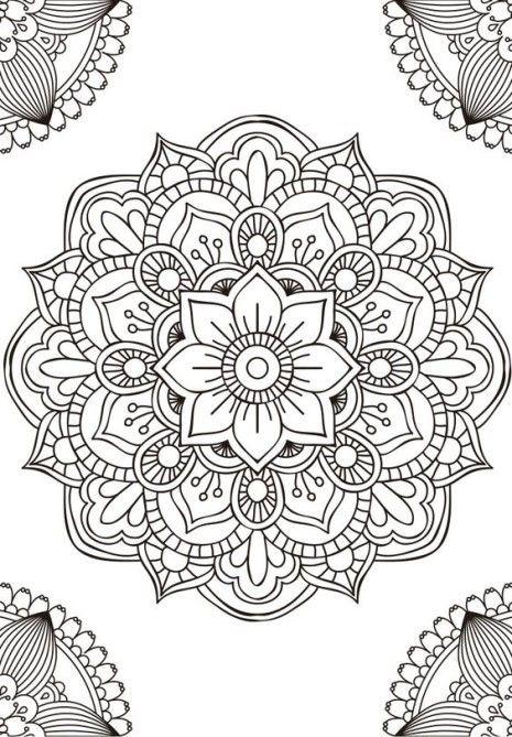 las mejores mandalas en blanco y negro para colorear im genes para whatsapp mandala s. Black Bedroom Furniture Sets. Home Design Ideas