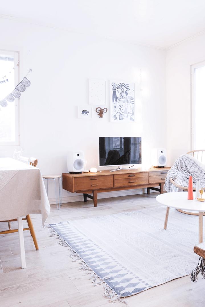 Mueble aparador tv de estilo n rdico nordico pinterest - Mueble estilo nordico ...