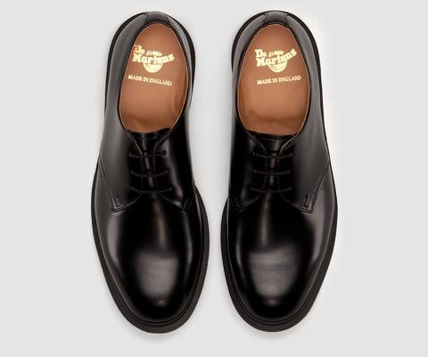 STEED | Dr Marteens | Black leather shoes men, Dr martens