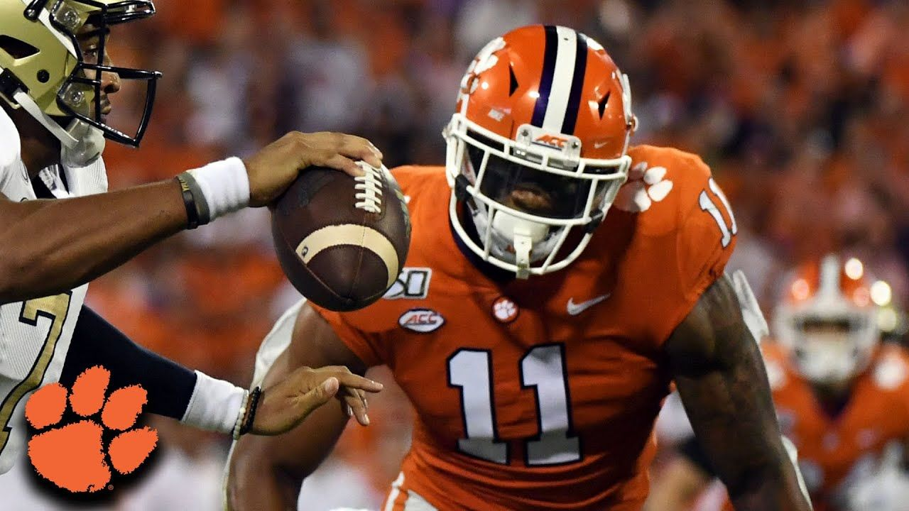Clemson's Isaiah Simmons The Tigers Defensive Weapon