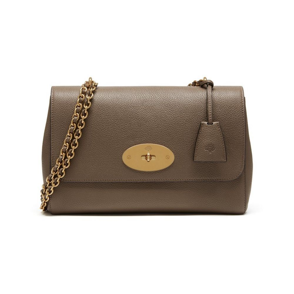 Shop The Medium Lily In Clay Leather At Mulberry Com The Medium