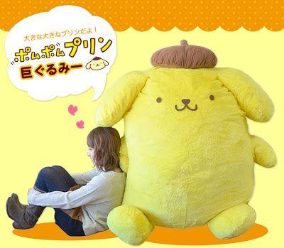 [Mega huge] Pom Pom Purin plush!  This is so big!