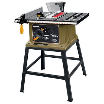 Rockwell Rk7240 1 Shop Series 13 Amp 10 In Table Saw With Leg Stand Best Table Saw Portable Table Saw Table Saw
