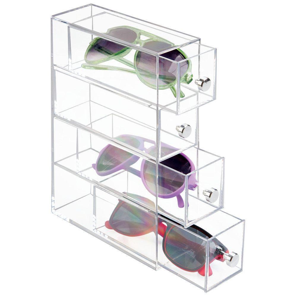 Interdesign Clarity Cosmetic Organizer Storage And Organization