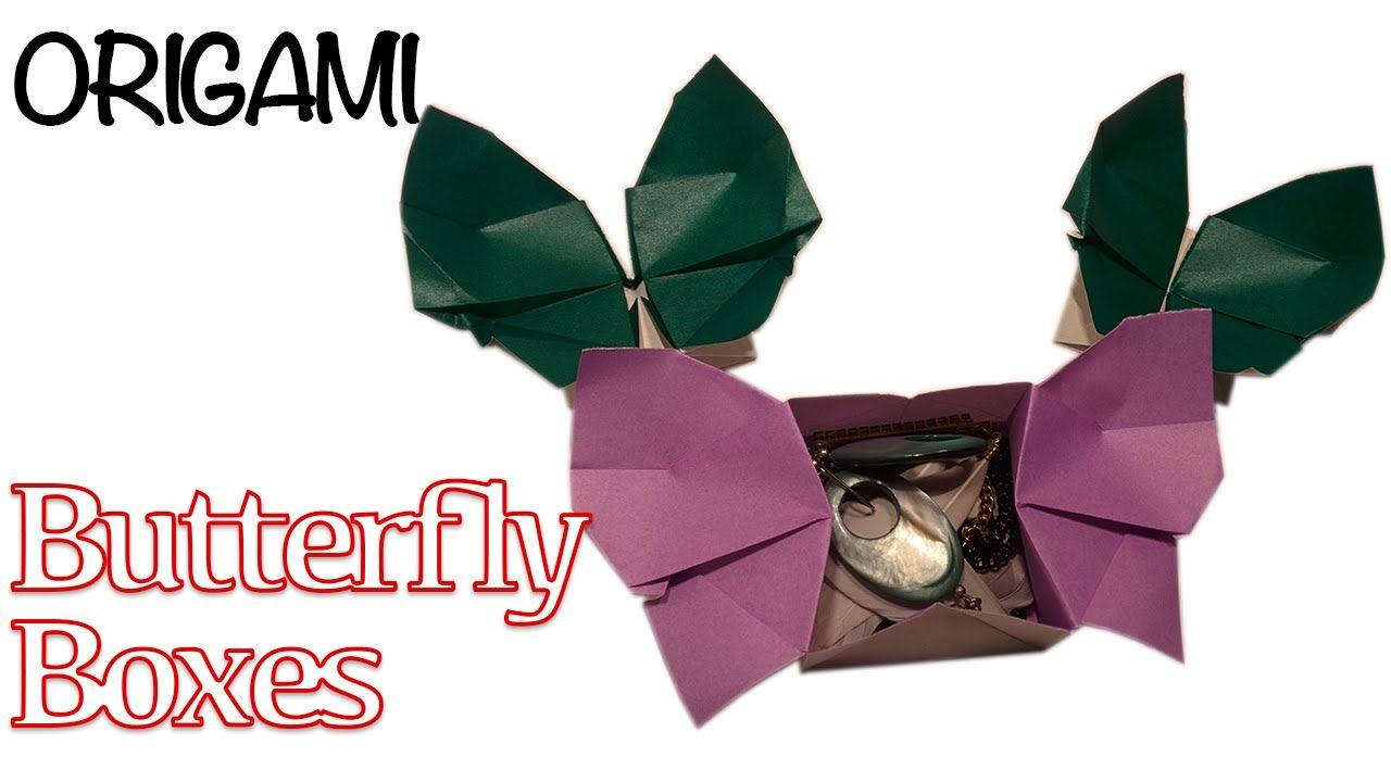 Surprise butterfly box origami mini box folding tutorial paper surprise butterfly box origami mini box folding tutorial jeuxipadfo Gallery