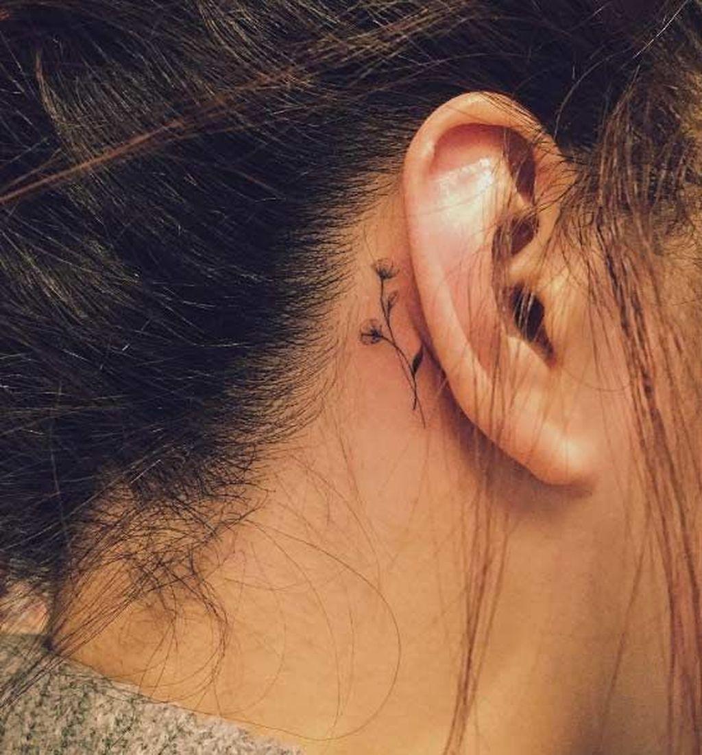 цена была тату около уха фото один прекрасный