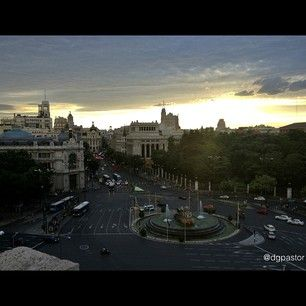 Plaza de Cibeles, Madrid. Photo by @dglezpastor