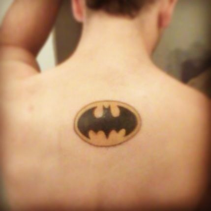 My batman tattoo