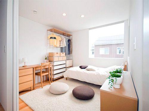 狭くっても心配なし 1k 1r 6畳 インテリアレイアウト22選 Yahoo Beauty Bedroom Interior Home Bedroom Small Space Bedroom