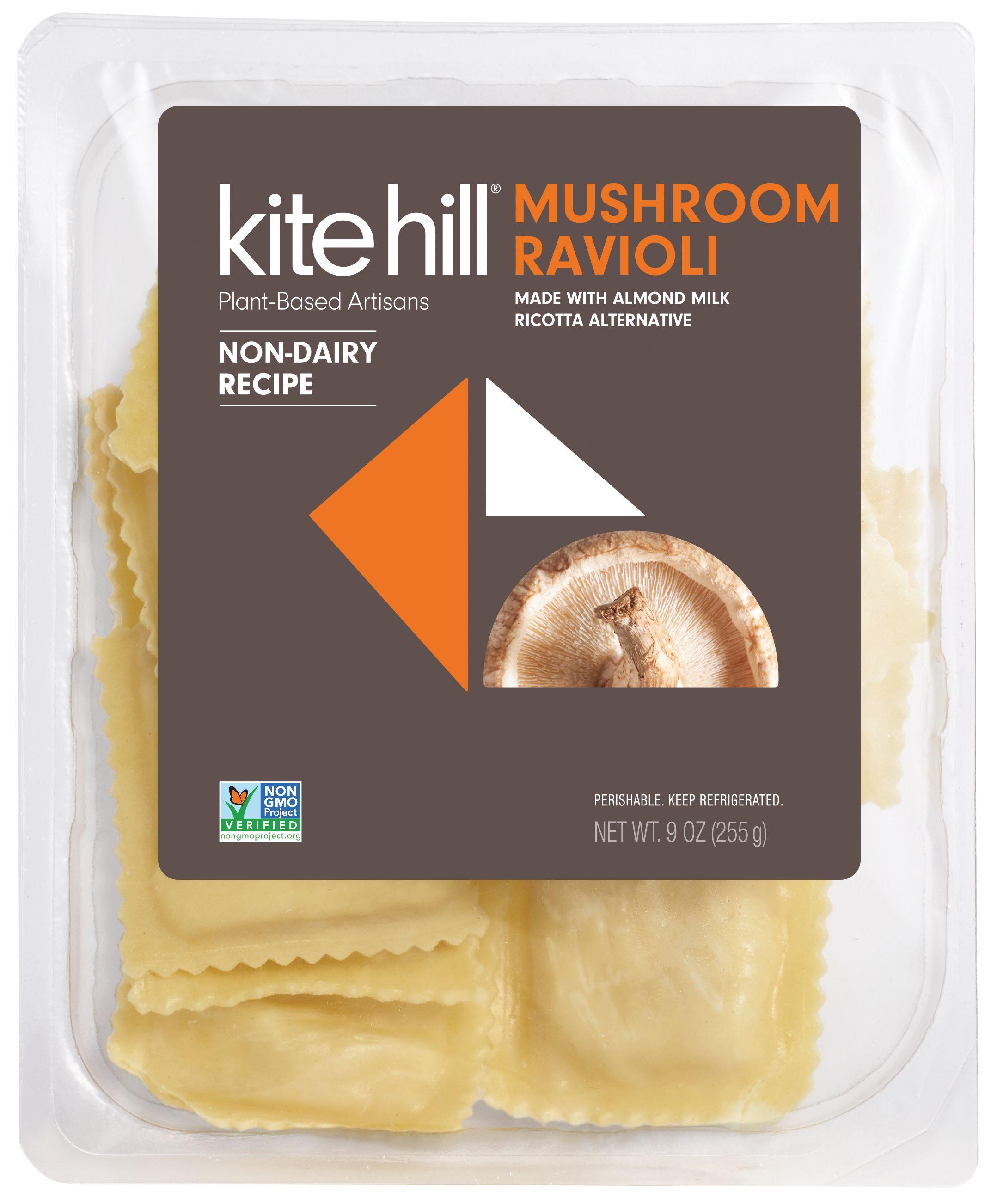 Kite Hill Filled Pastas In 2020 Ricotta Alternative No Dairy Recipes Stuffed Mushrooms