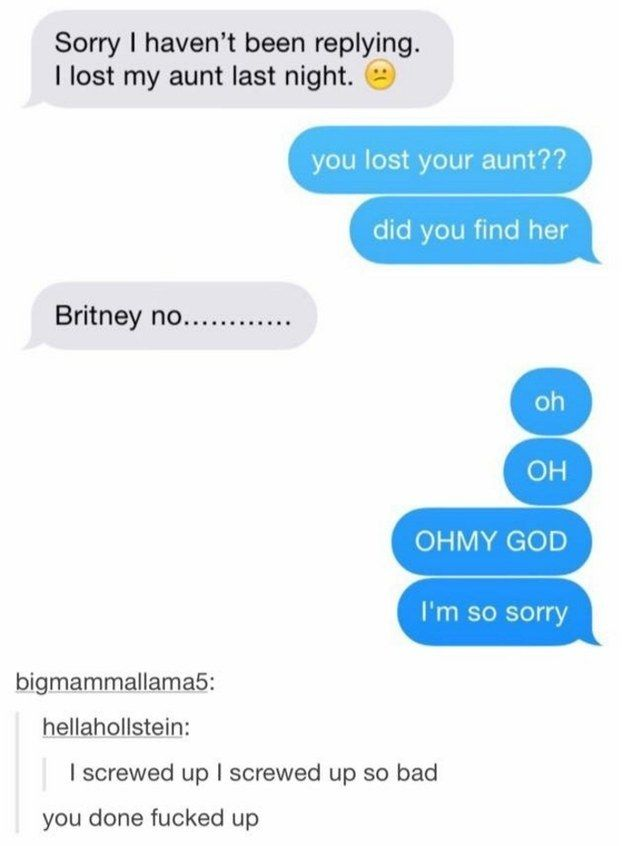 This texting disaster: