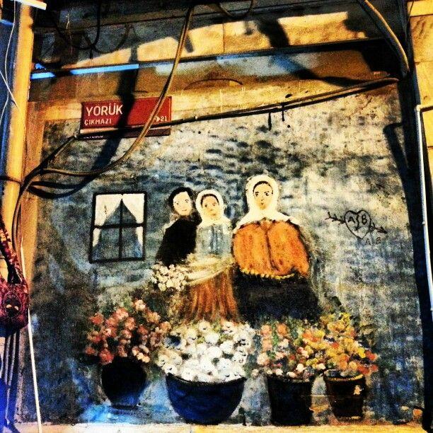 #graffiti #streetart #art   Istanbul, Turkey Photo was taken by Nesrin Yuceturk