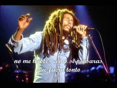 Waiting In Vain Bob Marley Con Subtitulos En Español Bob Marley Damian Marley Cantores