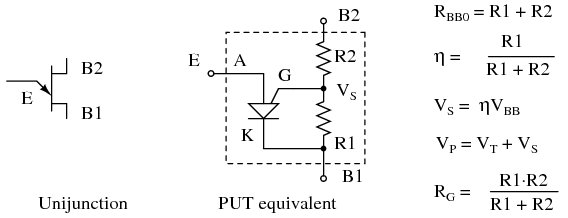 The Unijunction Transistor (UJT) (With images)   Textbook ...