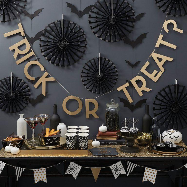 Halloween Homeware Uk High Street Halloween Must Have Decor 2018 Creepy Halloween Party Halloween Party Decor Halloween Buffet