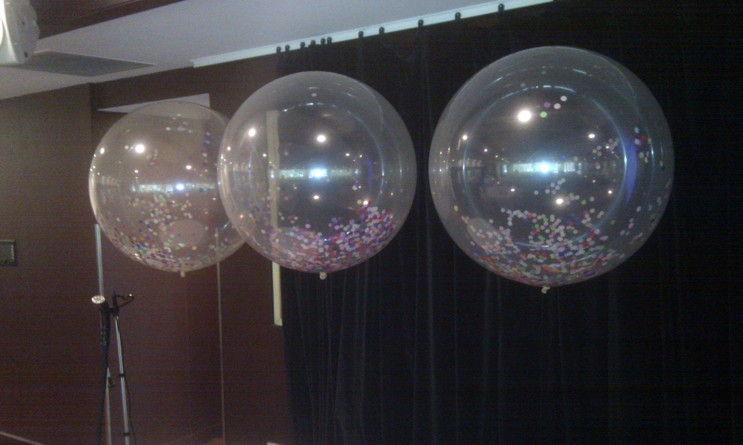 Diamond Clear Balloons 108