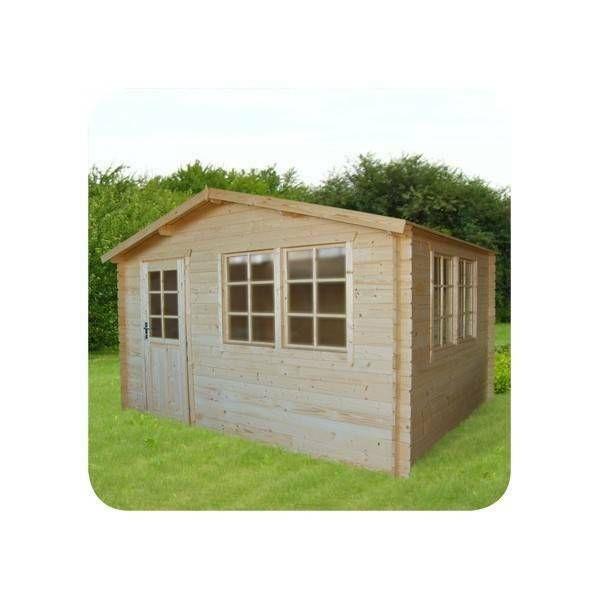 eBay Sponsored Gartenhaus aus Holz 4x3m Holzhaus