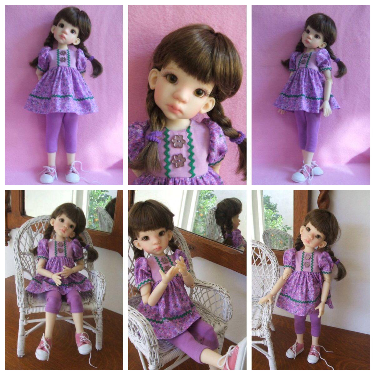 OOAK Handmade Outfit for Kaye Wiggs Talyssa MSD BJD on ebay!