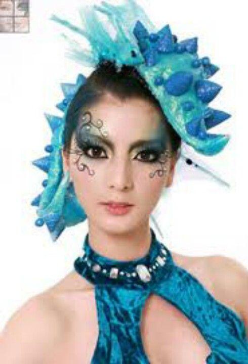Sea creature makeup  sc 1 st  Pinterest & Sea creature makeup | Taro | Pinterest | Make up Mermaid make up ...