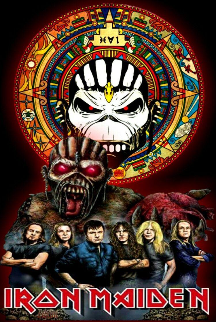 Iron Maiden The Book Of Souls Iron Maiden Posters Iron Maiden Band Iron Maiden