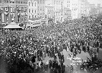 This website discusses the suffrage movement with a general overview of the major events that took place. It was developed and is maintained by PBS.