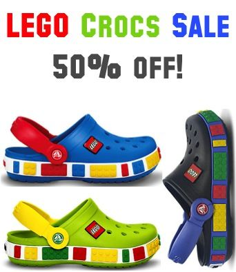 2bb4032e955b LEGO Crocs Sale  50% off! This is for real but for a limited time ...