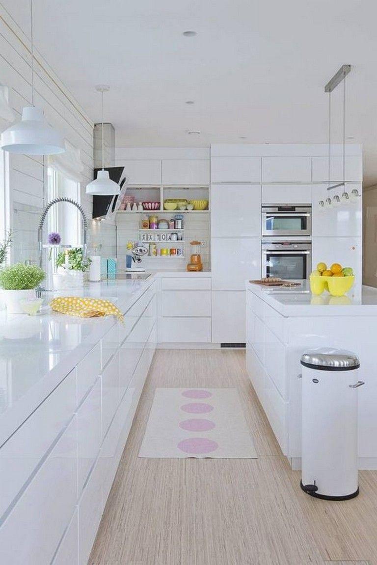 44+ wonderful white kitchen design ideas | küchen design