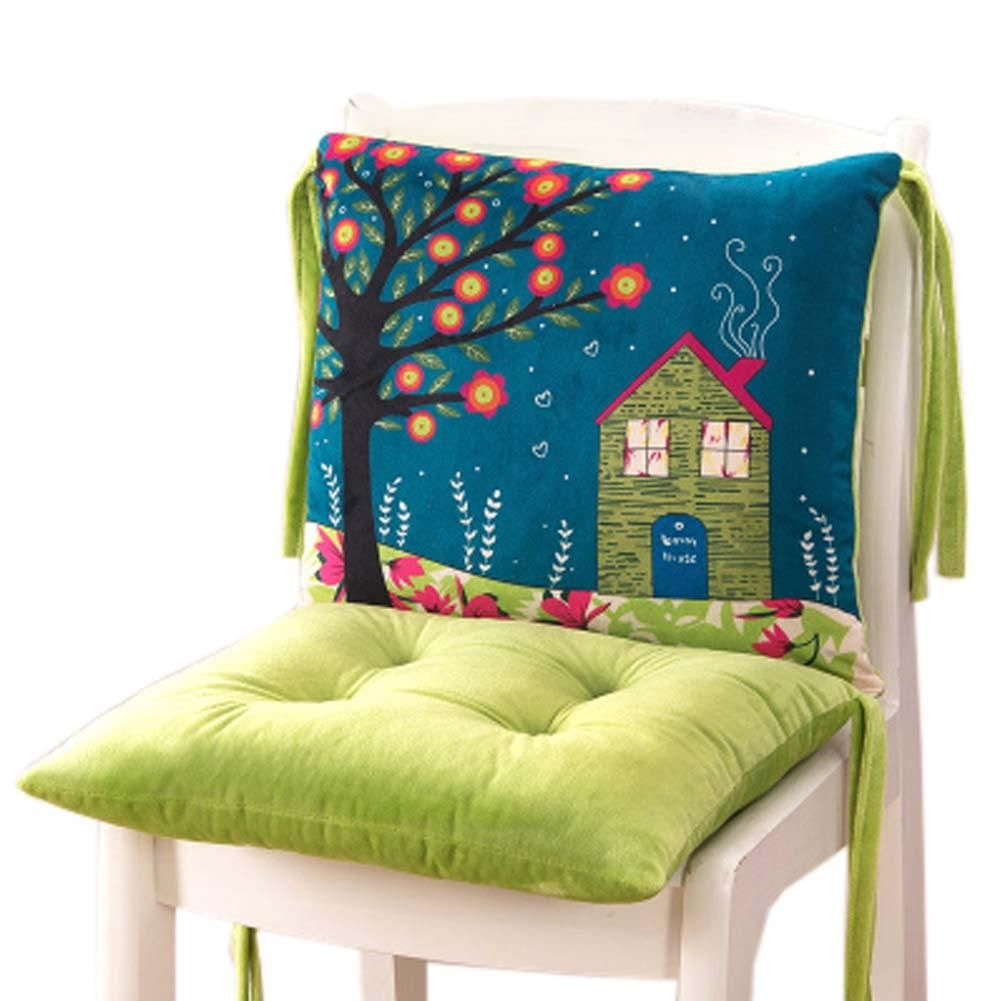 The Nordic Style Student Seat Chair Cushion Pads For Home Office Decor 12 In 2020 Chair Cushions Printed Chair Cushions