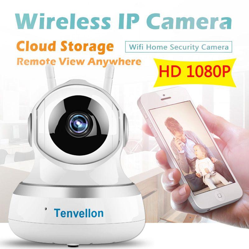 1080 P WIFI Telecamera Ip Wireless Di Sorveglianza Di Sicurezza Video Camera  Cloud Storage Suono Sensore