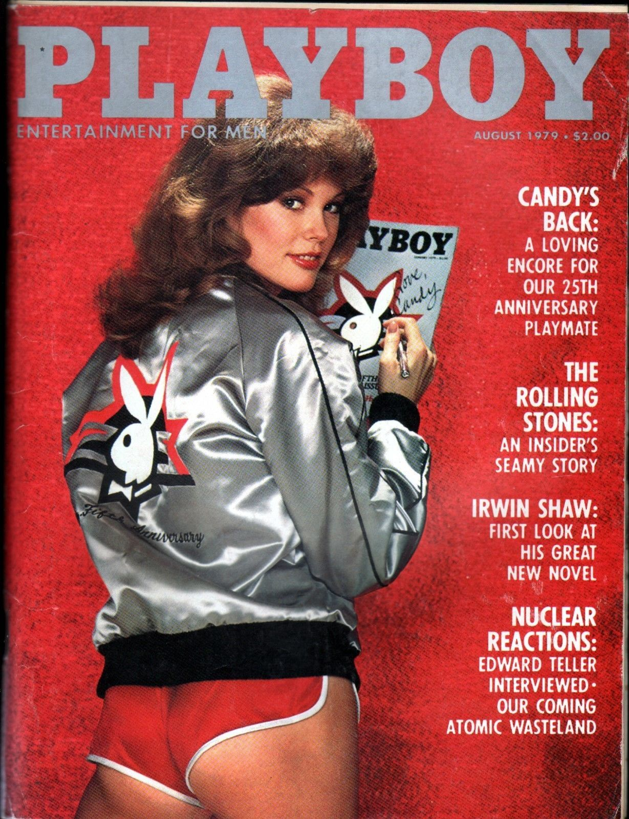 AUGUST 1979 PLAYBOY- Playmate: DOROTHY STRATTEN Cover: CANDY LOVING