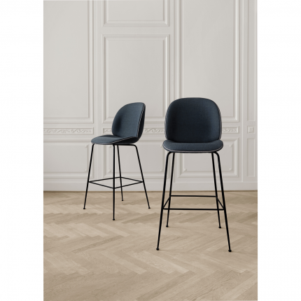 Gubi Beetle Counter Chair Textile Upholstery Upholstered Bar