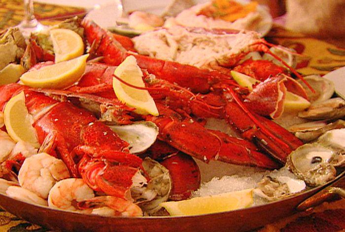 mignonette sauce Seafood Platter Recipe : Ina Garten : Food Network - FoodNetwork.com