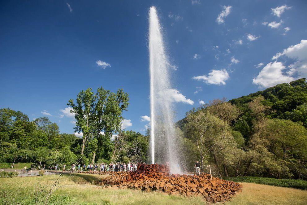Kaltwasser Geysir Andernach Day Trips Water Geyser Natural Phenomena