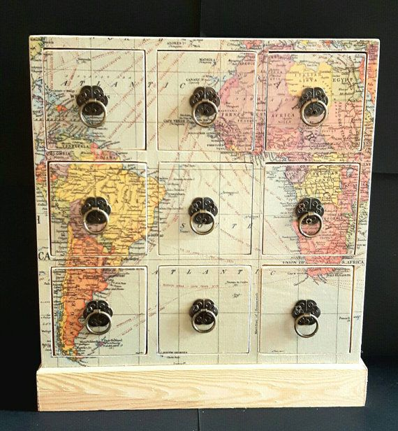 Jewellery box wooden chest world map wife by quirkyartshere jewellery box wooden chest world map wife by quirkyartshere gumiabroncs Choice Image