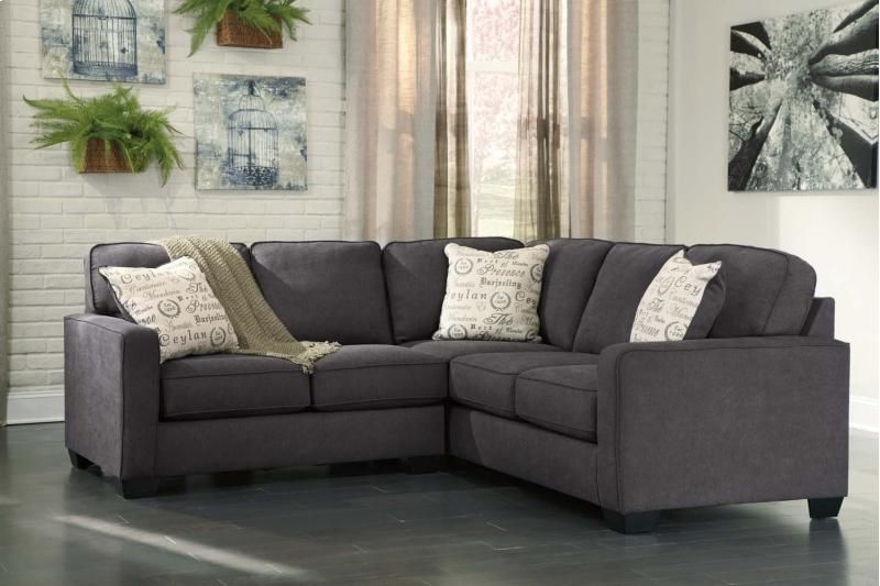 16601S1 In By Ashley Furniture In Logan, UT   Alenya   Charcoal 2 Piece  Sectional