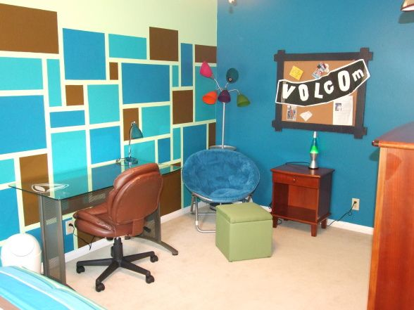 updated boy's bedroom for an 11 year old. | boys room | pinterest