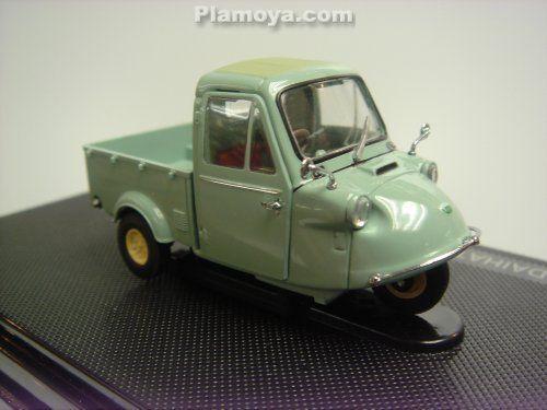 Daihatsu Midget Mp4 Three Wheel Truck 1959 Green Daihatsu
