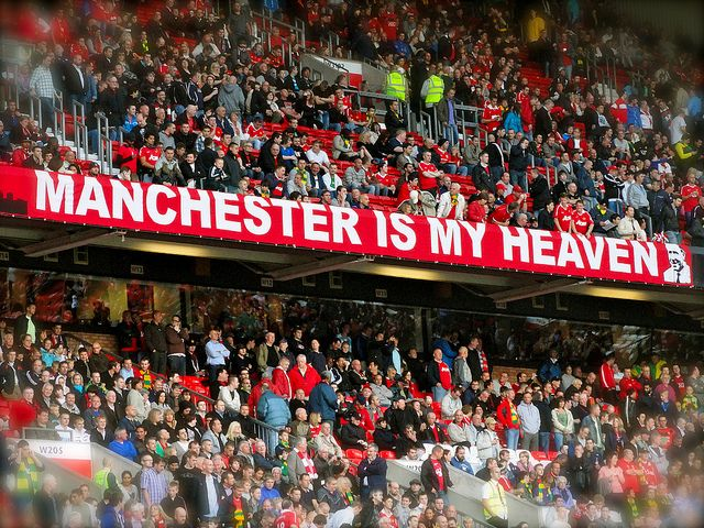 Manchester Is My Heaven Manchester United Manchester Manchester United Football